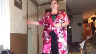 Download AliExpress review: Flowered Satin Robes for Bridal Party Photos Video