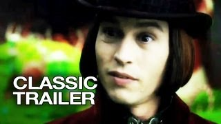 Download Charlie and the Chocolate Factory (2005) Official Trailer #1 - Johnny Depp Movie HD Video