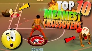 Download NBA 2K17 TOP 10 MEANEST PARK Crossovers & Ankle Breaker Dribble Moves Video