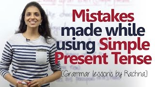 Download English Grammar lesson - Mistakes made using 'Simple Present Tense' ( Learn English) Video