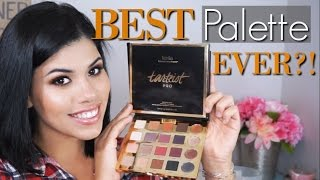 Download NEW! Tarte Tarteist Pro Palette Review + Swatches Video