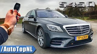 Download 2019 Mercedes-Benz S Class S450 4Matic Long REVIEW POV Test Drive on AUTOBAHN & ROAD by AutoTopNL Video