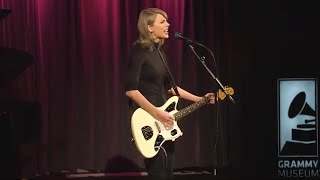 Download Taylor Performs ″Wildest Dreams″ at The GRAMMY Museum Video