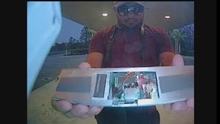 Download Suspect caught on camera installing skimming devices on ATM Video
