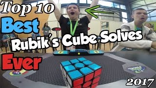 Download Top 10 of BEST Rubik's Cube Solves Ever ! (2017) Video