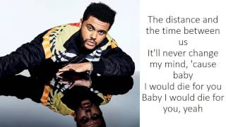 Download The Weeknd - Die For You (Lyrics) Video