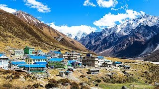 Download Trek to Beautiful Langtang Kyanjin Gompa Valley of Nepal Video