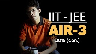 Download IIT JEE Advanced Topper - AIR 3 Mukesh Pareek sharing his tips to Crack IIT JEE. Video