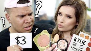 Download BOYFRIEND GUESSES MAKEUP PRICES! LOL!! Video
