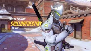 Download Overwatch Play Of The Game My Genji Video