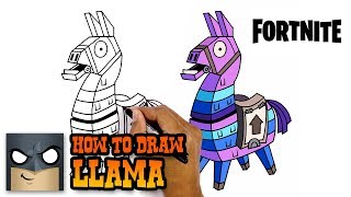 Download How to Draw Fortnite | Llama | Step-by-Step Video