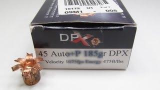 Download Corbon 45 AUTO +P 185 Grain DPX Gel Test Video