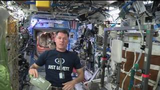 Download Space Station Commander Discusses Life in Space with Students from Former School Video