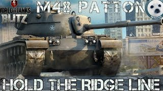 Download Wotb: M48 Patton. How to play it. My best game ever? Video