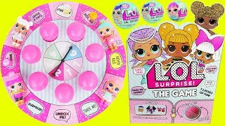 Download LOL Surprise Dolls Board Game Lil Sisters Queen Bee Rare Baby McDonalds Drive Thru Prank Sleepover! Video