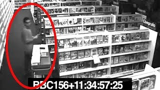 Download 5 Terrifying Videos Of Ghosts Caught On CCTV Video