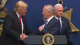 Download Trump Swears in James Mattis as Secretary of Defense (FULL SPEECH) | ABC News Video