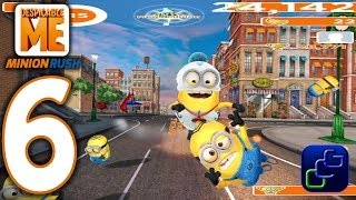 Download Despicable Me: Minion Rush Android Walkthrough - Part 6 - NEW Update: DOWNTOWN Bank Video
