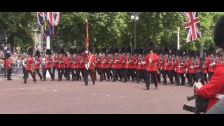 Download Trooping the Colour 2017; Guards parading and Flypast Video