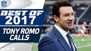 Download Tony Romo's Best Calls from the 2017 NFL Season | NFL Highlights Video