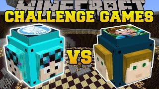 Download Minecraft: DANTDM VS CRAINER CHALLENGE GAMES - Lucky Block Mod - Modded Mini-Game Video