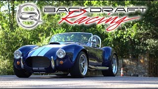 Download 1965 Backdraft Shelby Cobra Car Review!: A Race Car For The Road! Video
