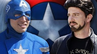 Download CAPTAIN AMERICA CIVIL WAR: The Avengers Pick Teams Video