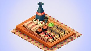 Download 3D Modeling: Create a traditional Sushi tray | TUTPAD Course Introduction Video
