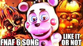 Download FNAF 6 SONG (Like It Or Not) LYRIC VIDEO - Dawko & CG5 Video