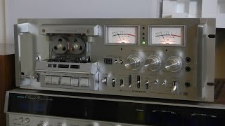 Download Vintage Pioneer CT-F1000 Stereo cassette deck Review & Demo Video