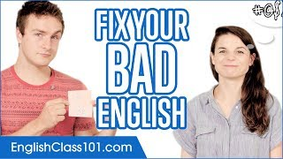 Download Fix Your Bad English in 50 minutes! Video