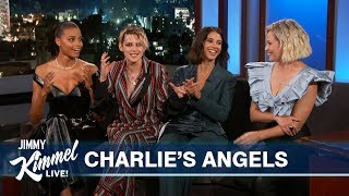 Download Charlie's Angels on Being Cast & Meeting Each Other Video