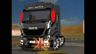 Download Grand truck simulator Skin iveco para mercedes actors✌ Video