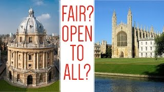 Download Are Oxford and Cambridge admissions fair? Video