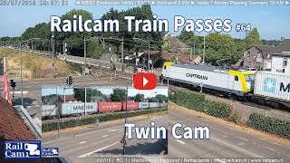 Download RailCam Train Passes on Twin Cam #64 Video
