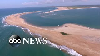 Download Exploring Shelly Island, a new island formed off the North Carolina coast Video