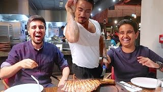 Download WORLD'S Famous NUSRET Salt Bae Experience In DUBAI !!! Video