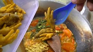 Download Jakarta Street Food 566 BrotherMamad CrazyHotSeblak+3Chicken Feet SeblakPedasGila2anMangMamad4082 Video