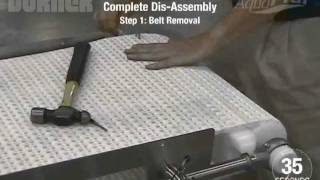 Download AquaPruf® 7400 Series Conveyor Disassembled in 146 Seconds Video