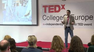 Download A personal story of the Syrian conflict | Riad | TEDxCollegeOfEurope Video