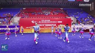 Download Ethnic aerobics: the sport integrating ethnic groups' dance elements Video