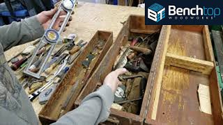 Download Toolbox Time Capsule, unpacking a 1930-1950s era Carpenters Toolbox! Video