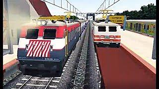 Download Indian Train Simulator - WAG-7 Tiger Face Mahamana Express - Asansol to Kharagpur Video