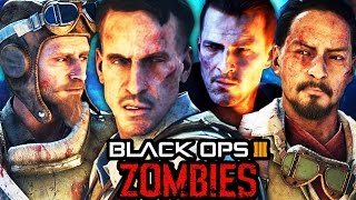 Download BLACK OPS 3 ZOMBIES: FULL MOVIE - ALL STORYLINE CUTSCENES INTRO & OUTRO! (BO3 Zombies Storyline) Video