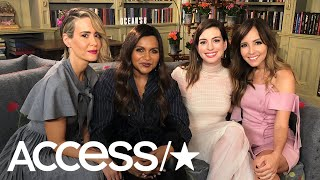 Download 'Ocean's 8': Sarah Paulson, Mindy Kaling & Anne Hathaway Dish On Which Co-Star They'd Rob | Access Video