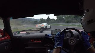 Download A fast lap at the Ring with my Exige and a dangerous Nissan GT-R driver ! Video