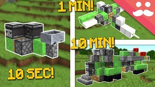 Download MINECRAFT VEHICLES: 10 Minute, 1 Minute, 10 Seconds! Video