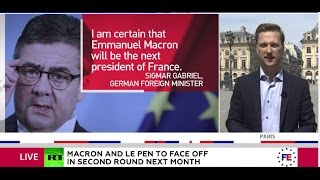 Download 'Hope of EU' vs. 'nightmare'? European elites flock to praise Macron, some call for Le Pen's defeat Video