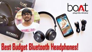 Download Best Budget Bluetooth Headphones? Boat Rockerz 400 Review! Video