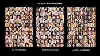Download On the Effects of Batch and Weight Normalization in Generative Adversarial Networks (ArXiv 2017) Video